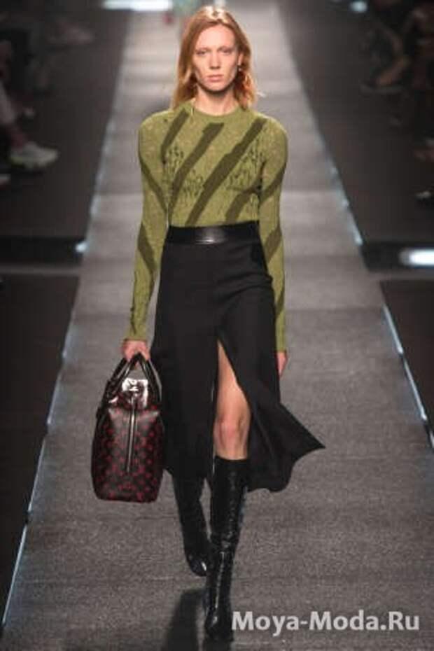 Модные юбки весна-лето 2015 Louis Vuitton