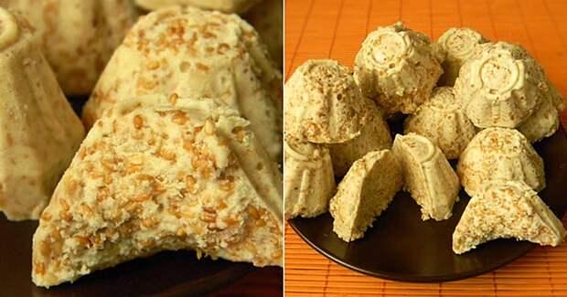Сливочная индийская сладость — готовится без духовки и… в упаковке для яиц