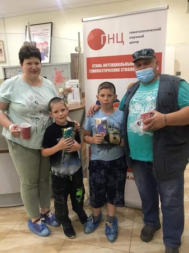 Доноры из района Аэропорт отметили День семьи участием в акции
