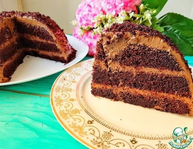 Супер ПОРИСТЫЙ торт за 8 минут