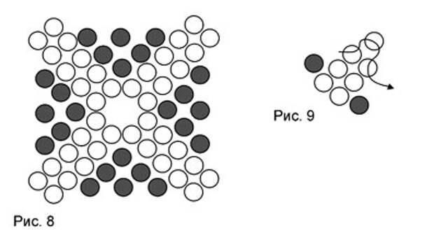 Бисероплетение: схема кулона