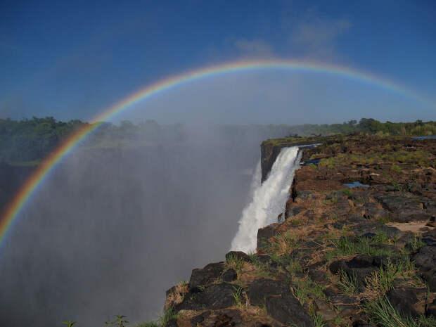 rainbow14 Радуга над самым большим водопадом в мире