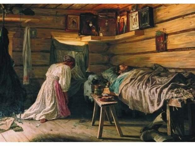 Где и как спали на Руси до массового появления кроватей?