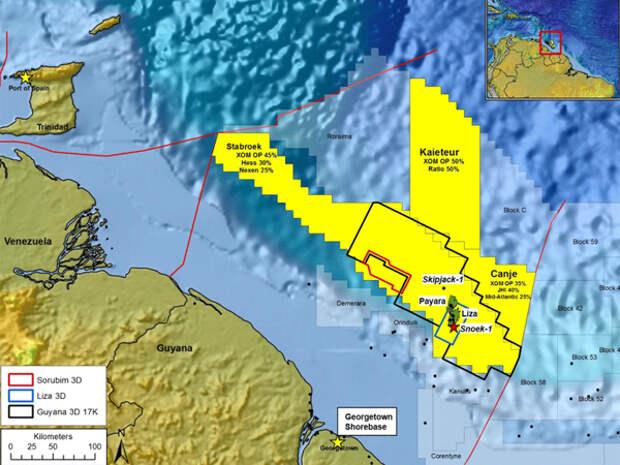 Гайана и Суринам – место последнего нефтяного бума в истории