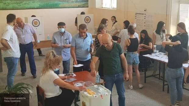 Ереван избирает парламент: репортаж с места событий
