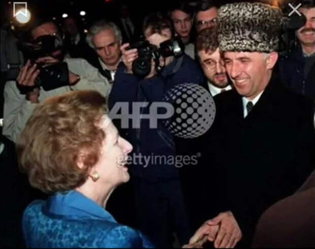 Как Масхадов ездил в Англию: 1998 год