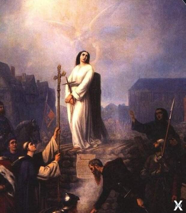 Подлинная причина сожжения Жанны д'Арк