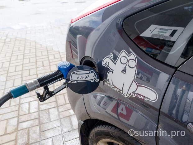 Средние цены на бензин вновь выросли в Ижевске