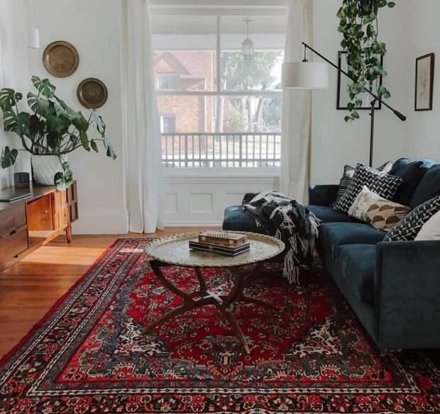 Модно и красиво: восточный ковер в вашем доме