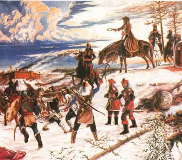 """К вопросу об установлении """"ига"""" в Рязанской земле: поход Батыя и перепись 1257 года"""