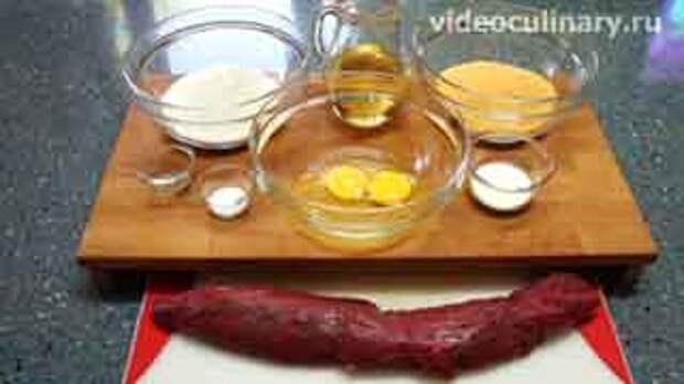 Ингредиенты для приготовления Венский шницель