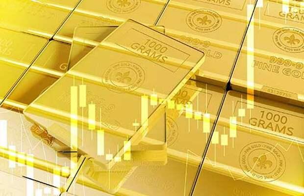 Золото приближается к важному уровню поддержки