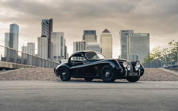 Классический Электромобиль, что может быть лучше? электрический Jaguar XK120 - беззаботная классика