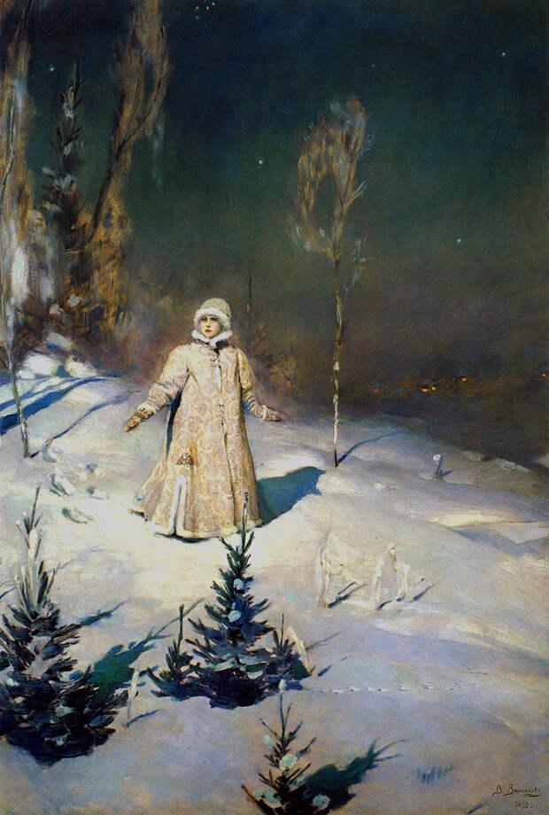 Снегурочка Васнецов