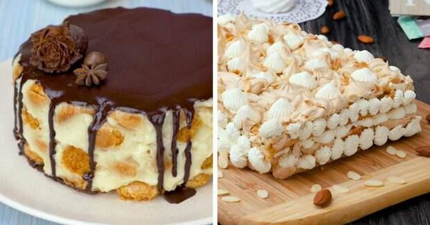 Как приготовить домашние торты