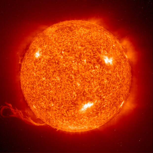 10 лет солнечной активности за 1 час