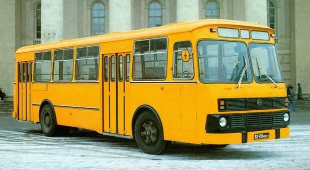 ЛиАЗ 677М предсерийный история, советские автобусы, транспорт