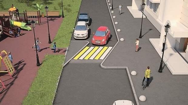 """Пешеходные переходы станут похожи на """"лежачих полицейских"""" ynews, авто, дорога, дтп, интересное, пдд, фото"""