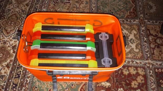 Компромисс между ящиком и сумкой в условиях лодочной рыбалки