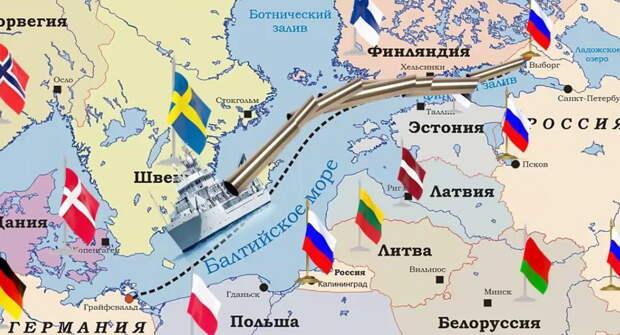 СП-2 завершает серию газопроводов в обход Украины и Прибалтики