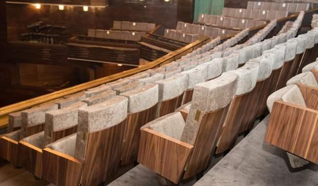 Московский Художественный академический театр имени М. Горького готов встретить зрителей с новыми креслами