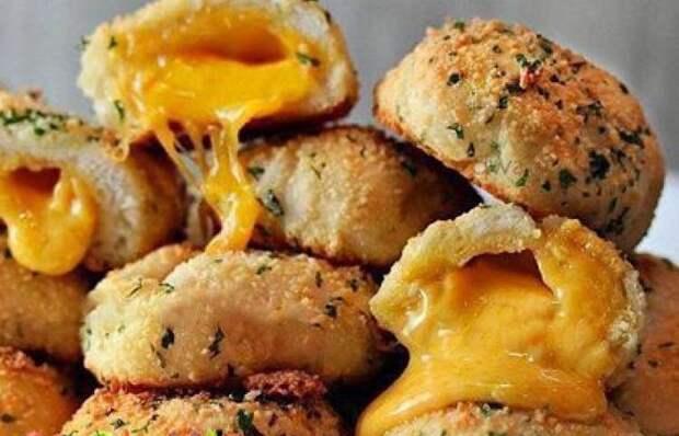 Мега вкусные сырные бомбочки