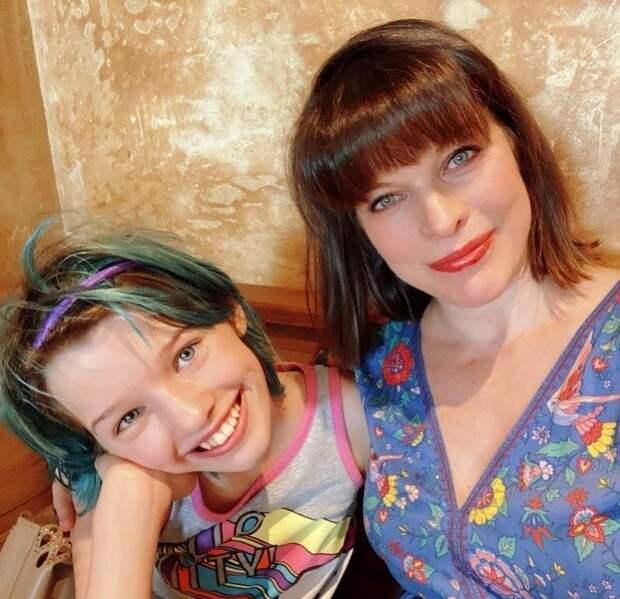 Как две капли: старшая дочь Милы Йовович удивительно похожа на мать в молодости