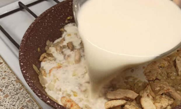 Заливаем рис молоком с мукой: стало вдвое сочнее