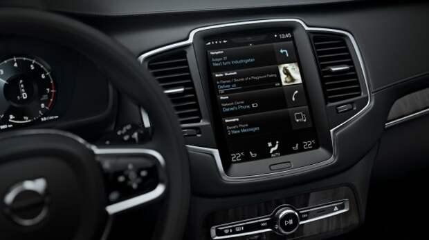 Автомобили Volvo «подружатся» с Android Auto