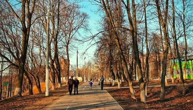 Парк имени Талалихина в Подольске временно закроют для посещения с 30 марта