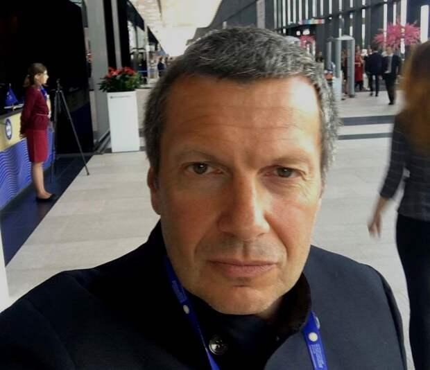 В Крыму телеведущего Соловьева сравнили с туристом-хамом