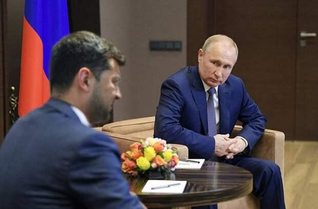 Зеленский согласился встретиться с Путиным
