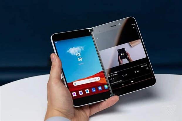 Microsoft Surface Duo 2 с двумя экранами получит улучшенные камеры и 5G
