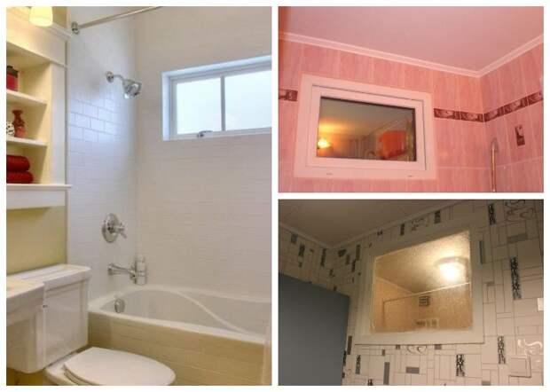 Наличие окна между кухней и ванной предусматривали санитарные нормы.