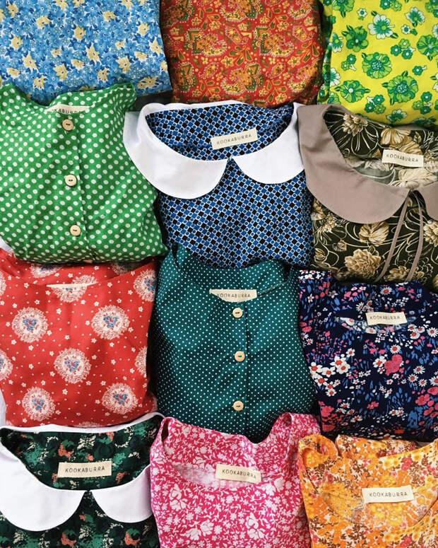 Зачем петербурженка шьет платья из советских тканей (ФОТО)