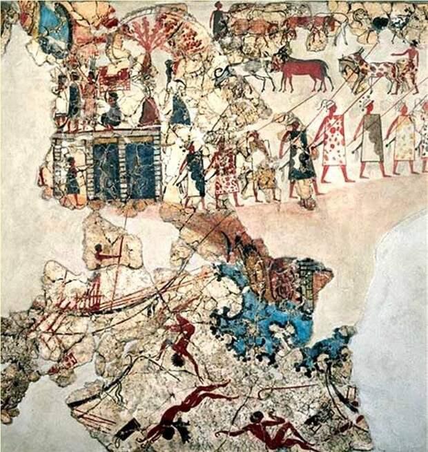 «Минойские Помпеи»: таинственный город на таинственном острове