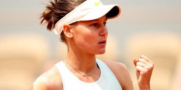 Российская теннисистка улучшила позицию в рейтинге WTA