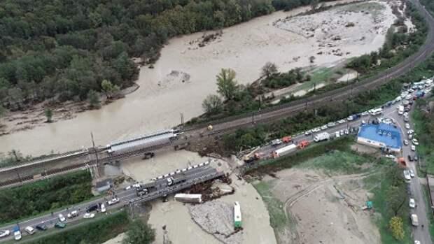 Названо число пострадавших из-за наводнения на Кубани