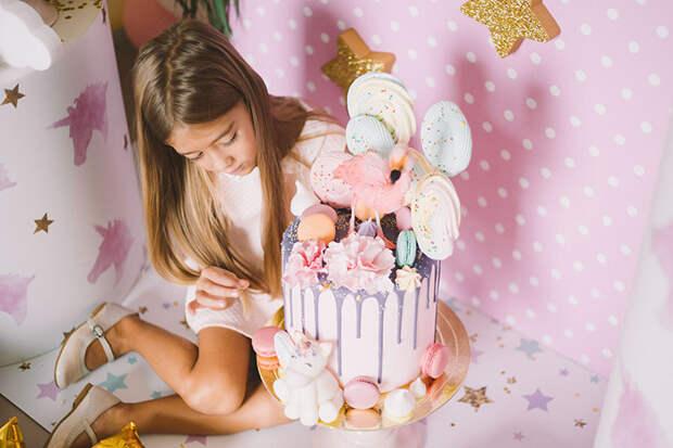 Торт на детский день рождения от Ribambelle