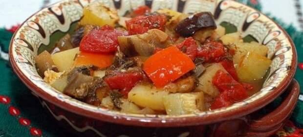 овощи в горшочке в духовке