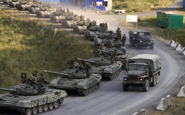 Десятки танков РФ развёрнуты ближе 20 км отграницы от Украины в Крыму