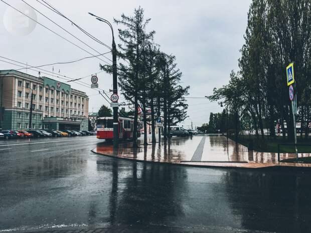 В ближайшую неделю в Удмуртии ожидаются дожди со снегом