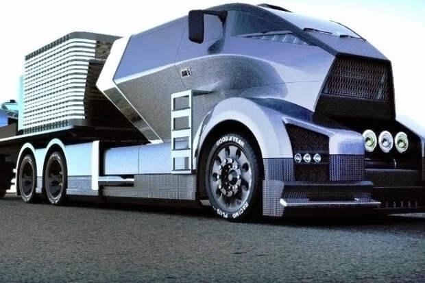 Невероятные грузовики будущего