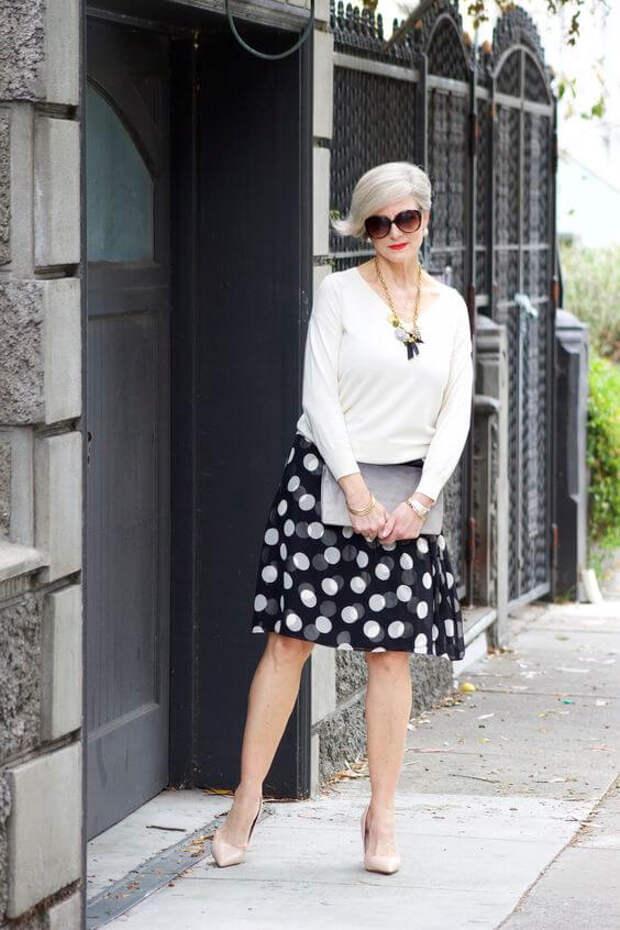 Уличная мода после 50 или стильная зрелость...