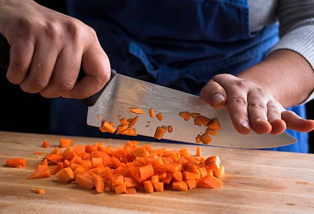 Как научиться резать ножом: мастер-класс от шеф-повара