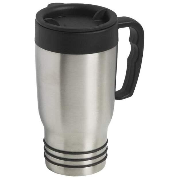 Кружки-термосы. Перед тем, как разогреть утренний кофе прямо в кружке-термосе, сделанной из нержавеющей стали, внимательно проверьте, в самом ли деле её можно засовывать в микроволновку. Если вы хотите, чтобы ваш кофе, кружка и микроволновка остались в сохранности, лучше перелить напиток во что-то керамическое.