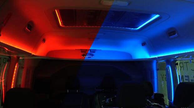 Как экономить на отоплении салона? Освещать его красным светом!