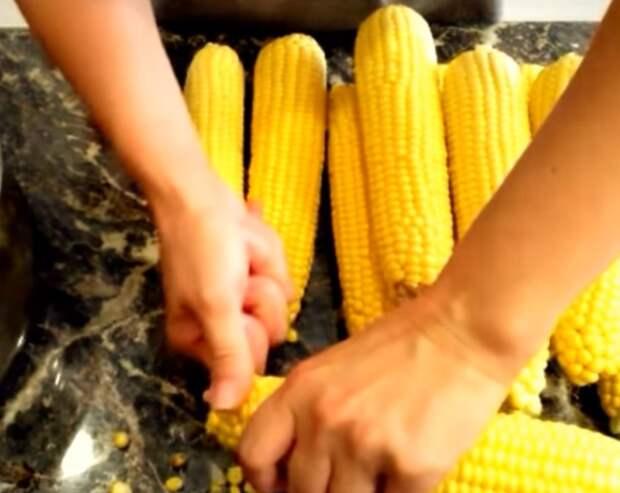 кукуруза на зиму в банках