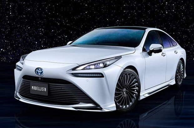 Бюро Modellista представило свою версию седана Toyota Mirai
