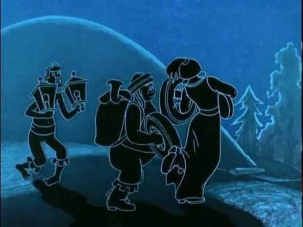 Забавное наблюдение Мультфильмы, Юмор, Длиннопост, Бременские музыканты, Кинодетали